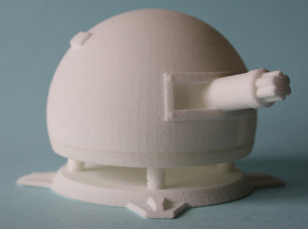 Fieldrunners Gatling Turret 5cm 3d printed 3D printed WSF Fieldrunners Gatling Turret
