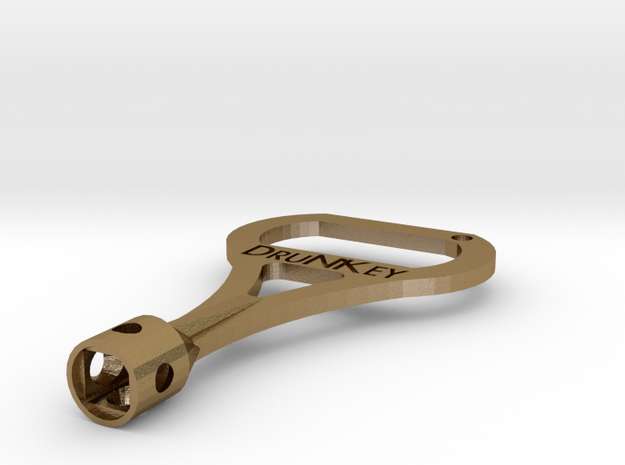 DruNKey v2.0 - A Drum Key Bottle Opener 3d printed