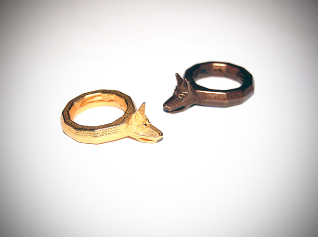 Dog Ring D18 3d printed