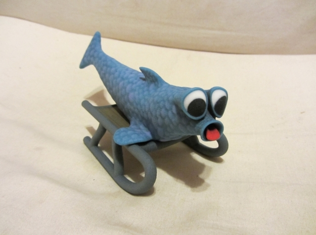 Herring on a Sled 3d printed