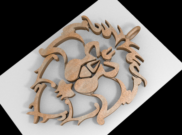 Alliance Medallion 3d printed New version! Better and cheaper!
