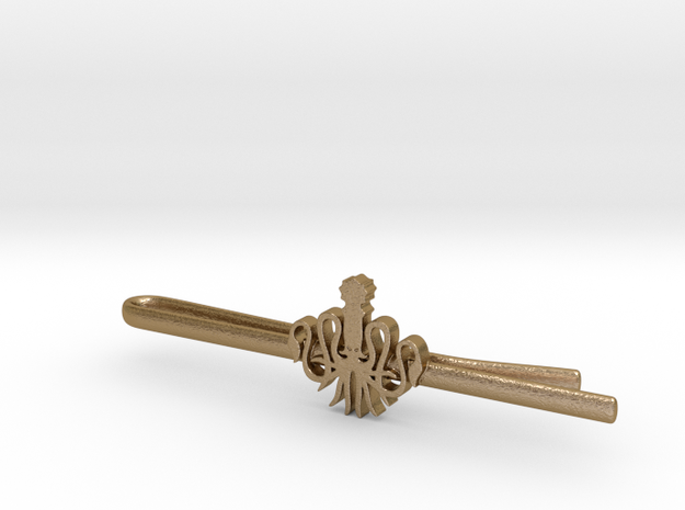 Game of Thrones: House Greyjoy Tie Clip 3d printed