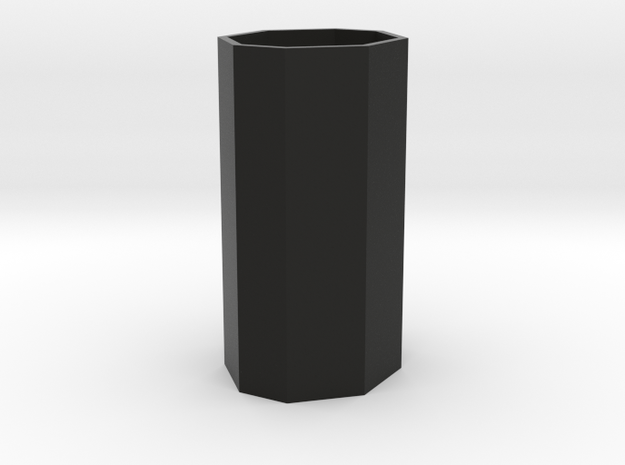 Large planter or waste basket 1:12 scale 3d printed