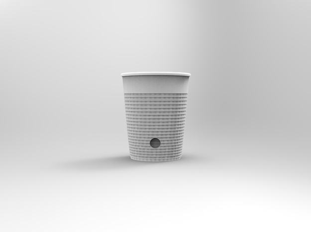 Cool touch CoffeeCup 3d printed