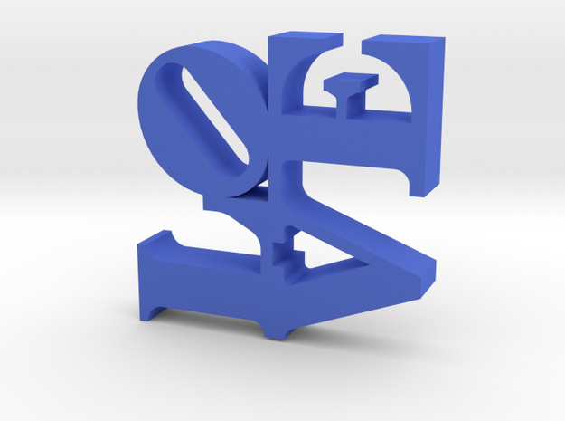 The Love Sculpture 3d printed