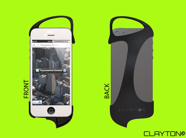 iPhone 5 case - Clayton 3d printed