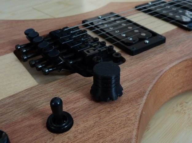 Volume and Tone control knobs 3d printed