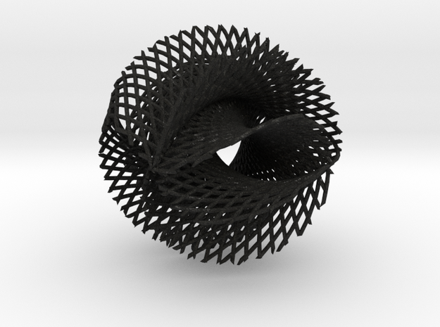 5x4 ribbon on hypersphere 3d printed