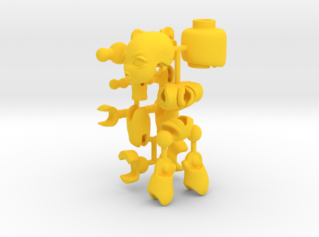 CoolEgo Articulate Minifig 3d printed