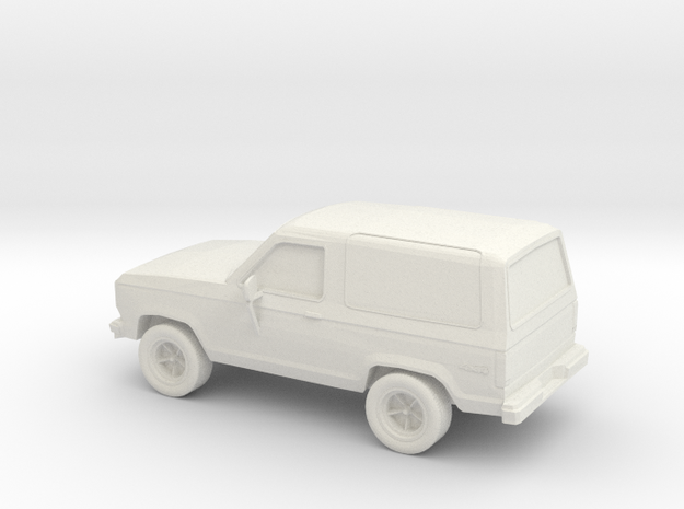 1/87 1987 Ford Bronco II 4X4