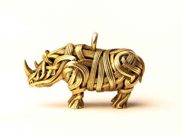The Rhino Pendant