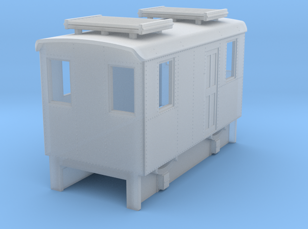 OO9 Cheap and Easy Early IC loco US Boxcab 3d printed