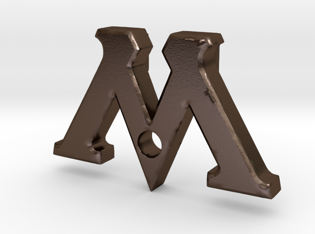 "Badge ""M"" (Film Wizardry) 3d printed"