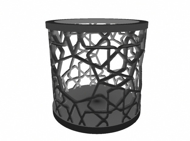 Islamic Tealight Holder 3d printed