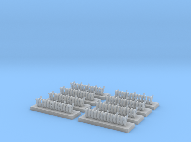 6mm Barbed Wire Obstacles (x8) 3d printed