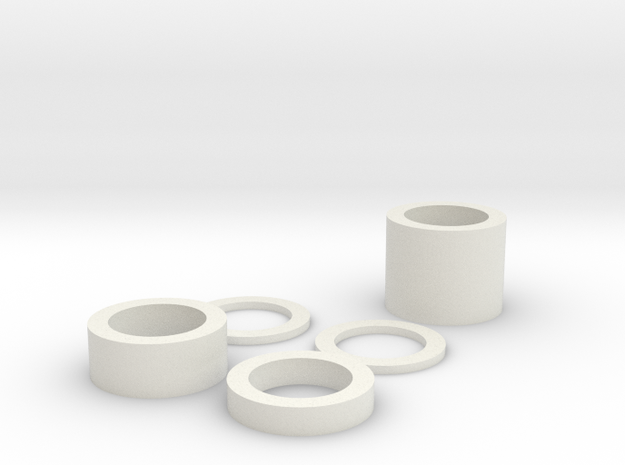 Spring Shims (full stroke) 3d printed