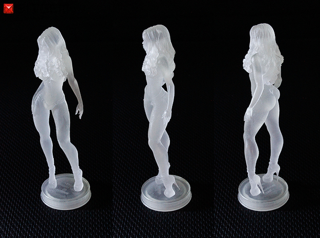 Aleysha 76mm 3d printed