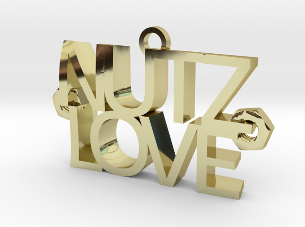 Nutz Love Letters 3d printed