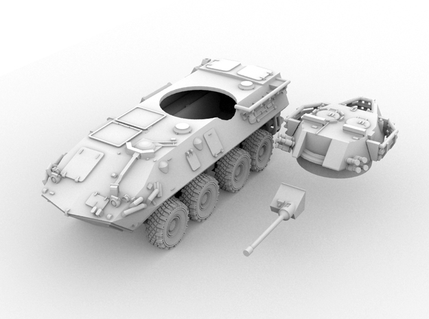 ASLAV-25 TYPE 1(N/1:160 Scale) 3d printed