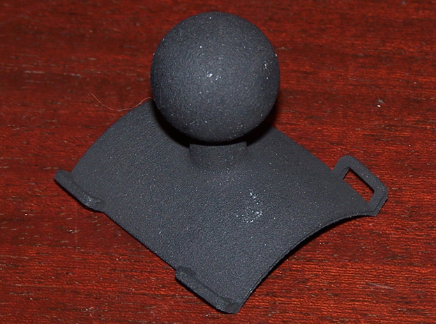 "Roll hoop clamp 1"" solid ball Atom RAM mount 3d printed"