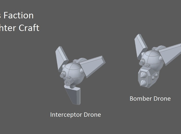 10 Rys Drone-Interceptors 3d printed faction preview
