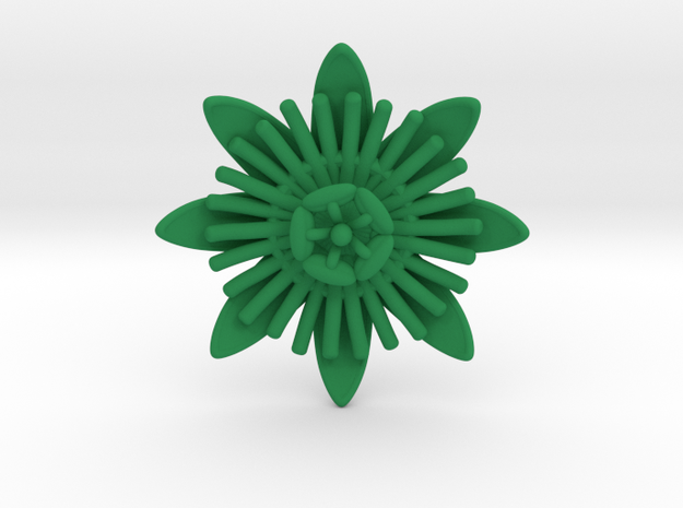 Passion Flower 3d printed