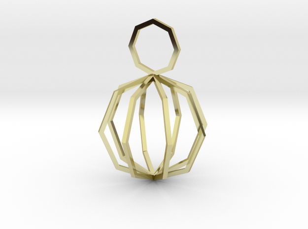 Motives Ngon - Necklace Collection 3d printed