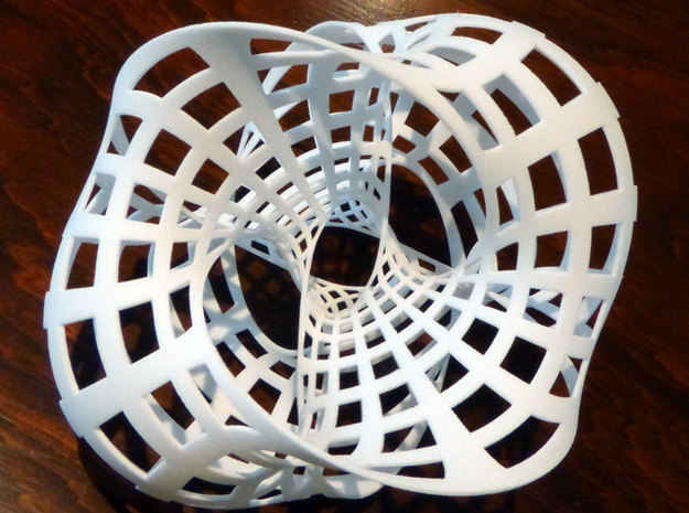 Seifert surface for (4,4) torus link 3d printed