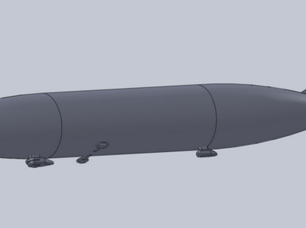 Zeppelin / Airship L48 1/2400 3d printed