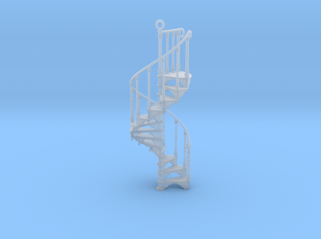 Spiral Staircase Ornament (1:48) 3d printed