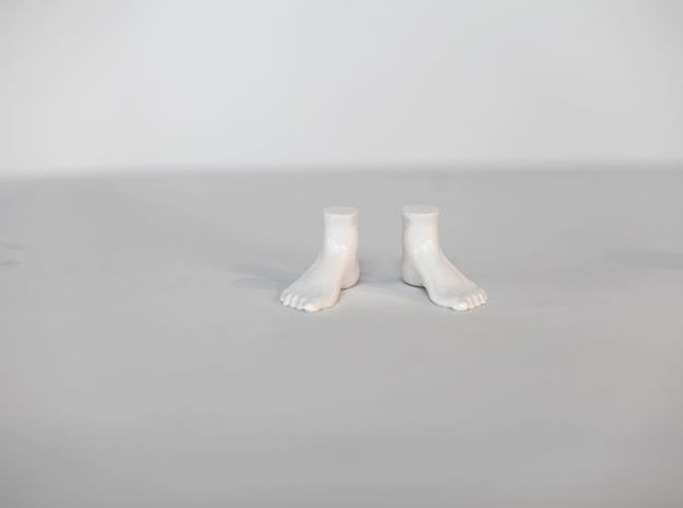 "LittleFeet for Everything - Human (1.5""h) 3d printed"