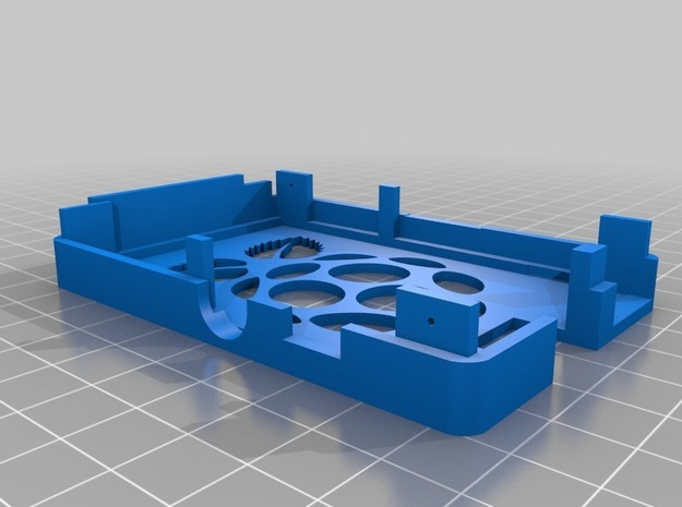 Raspberry Pi Case Top 3d printed