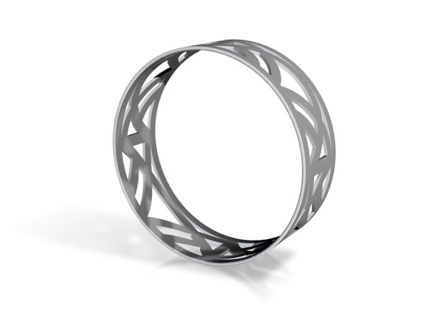 Trellis Bangle 3d printed