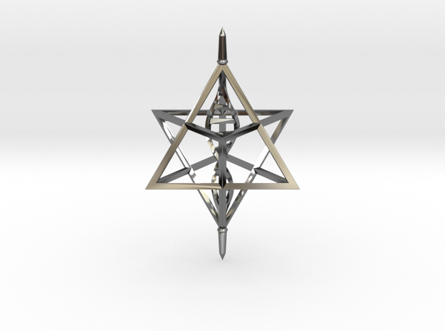 Merkaba Spinner DNA - 6cm 3d printed