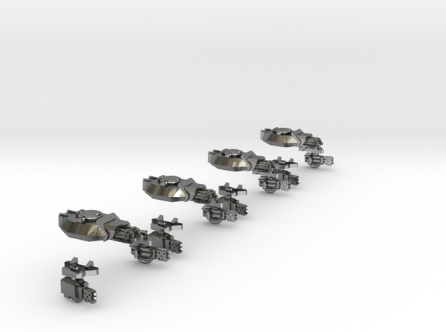 Lord Tank Turrets 3d printed