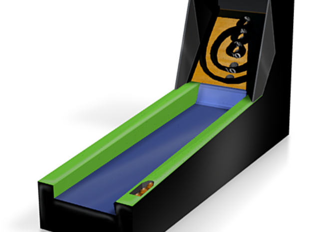 Mini Skeeball 3d printed