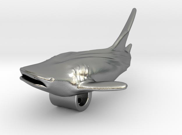 Whale Shark Pendant 3d printed Whale shark Pendant by ©2012-2013 RareBreed