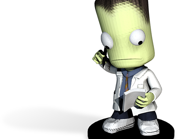 Kerbal Intern 3d printed