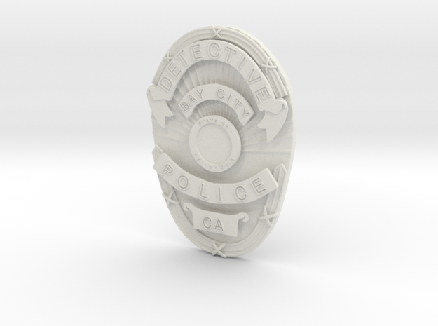 Starsky Badge 3d printed