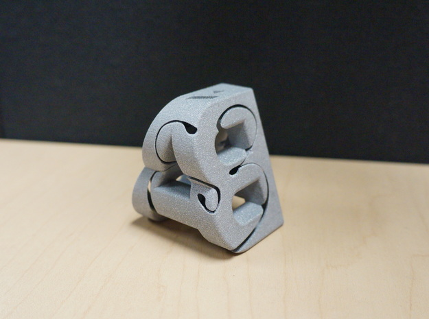 A&B labyrinthe with Sun and Moon balls 3d printed