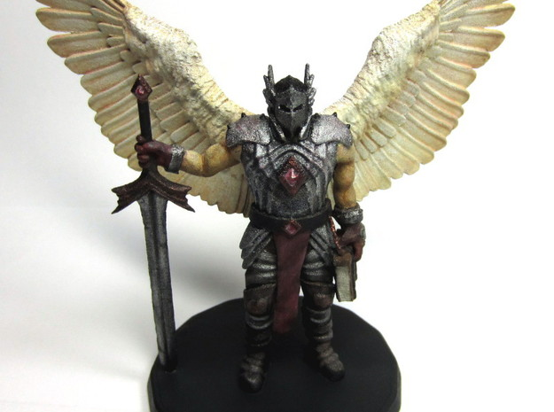 Bringer of Justice 3d printed Front - Painted