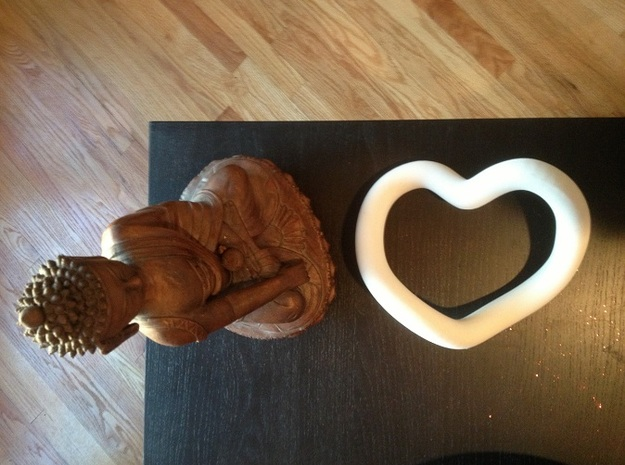 Heart Sculpture 3d printed