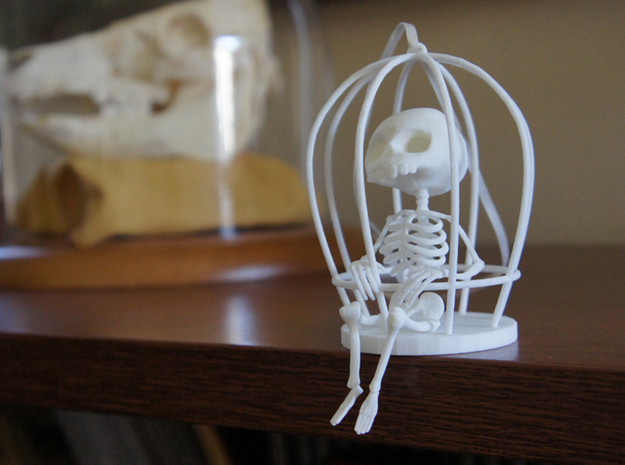 Caged 3d printed