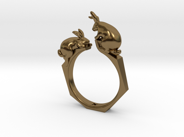 Nº01 Rabbit Ring (multiple sizes)
