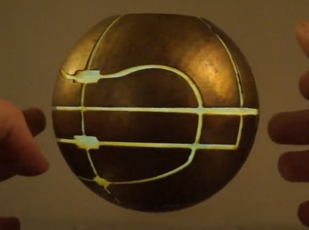 Apple of Eden Replica 3d printed READ BELOW