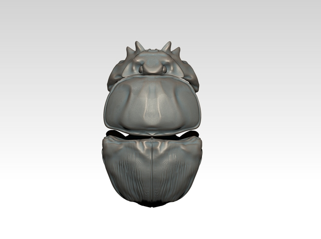 Dung Beetle Pendant 4cm - style 1 - Circellium bac 3d printed