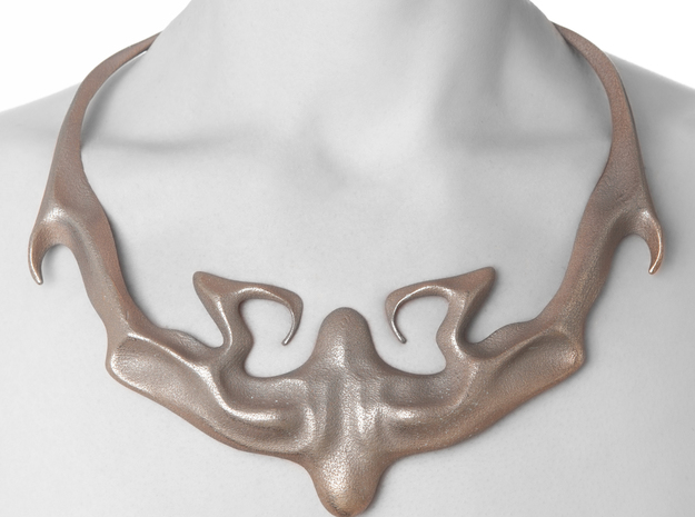 Kimberly Ovitz - Prosoma Necklace 3d printed