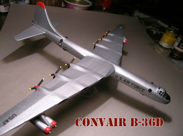 1/285 B-36 Bomber 3d printed Painting by Fred O.