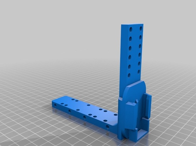 SeatWedgeReceiver 3d printed