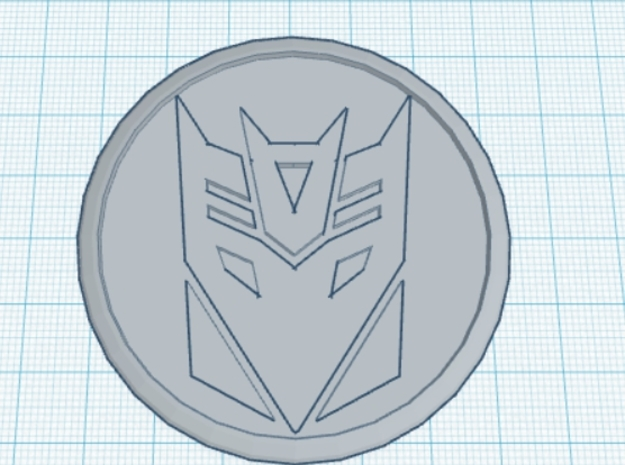 4 X Toyota Prius G3 Wheel Center Cap - Decepticon 3d printed